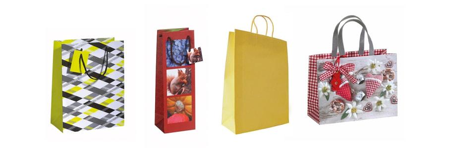 Papier-Taschen
