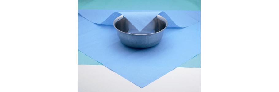 Stericlin Vlies blau