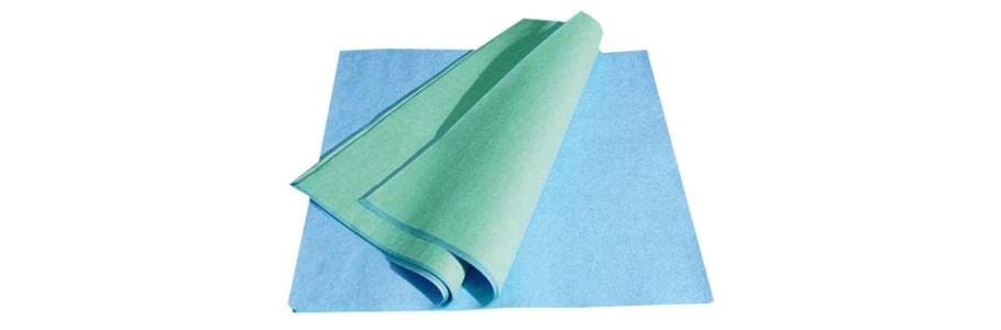 Stericlin Vlies blau/grün