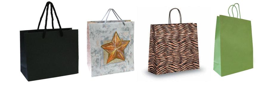 Papiertragtaschen Boutiqueline Weihnachten