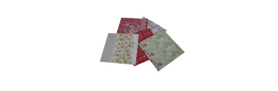Servietten Tissue dessiniert